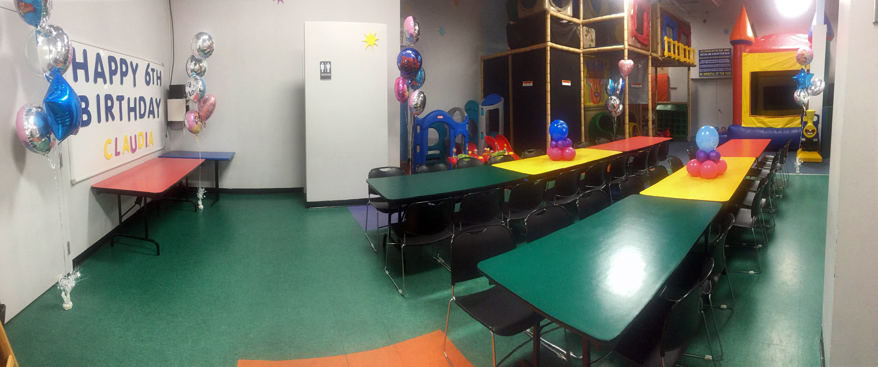 Dream Room Three Details Toronto Indoor Playground Birthday Party